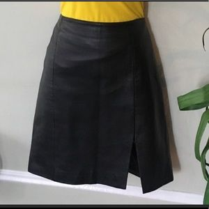 Casual Corner Leather skirt